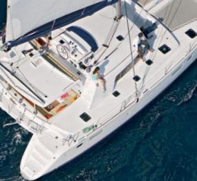 Katamaran segeln luxus  Lagoon Katamaran enjala am Mittelmeer chartern und um die Toskana ...
